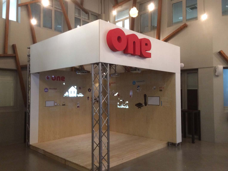 Vodafone: Interactive touchboard